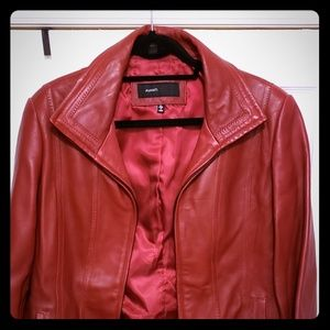 Jackets & Blazers - Ladies lightweight leather jacket